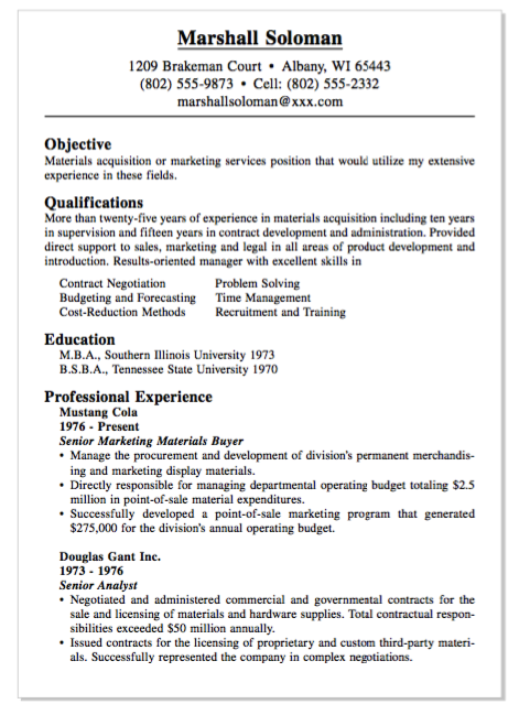 Example Of Materials Buyer Resume Examples Resume Cv Resume Examples Resume Resume Cv