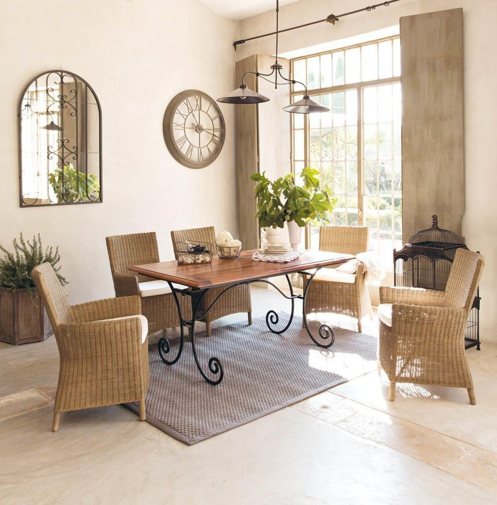 Tavolo per sala da pranzo in ... - Lubéron | Home decor | Pinterest ...