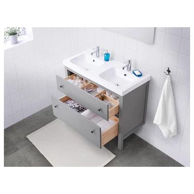 Meubles Vasque A Poser Ikea Ikea En 2020 Meuble Lavabo Hemnes Ikea Hemnes