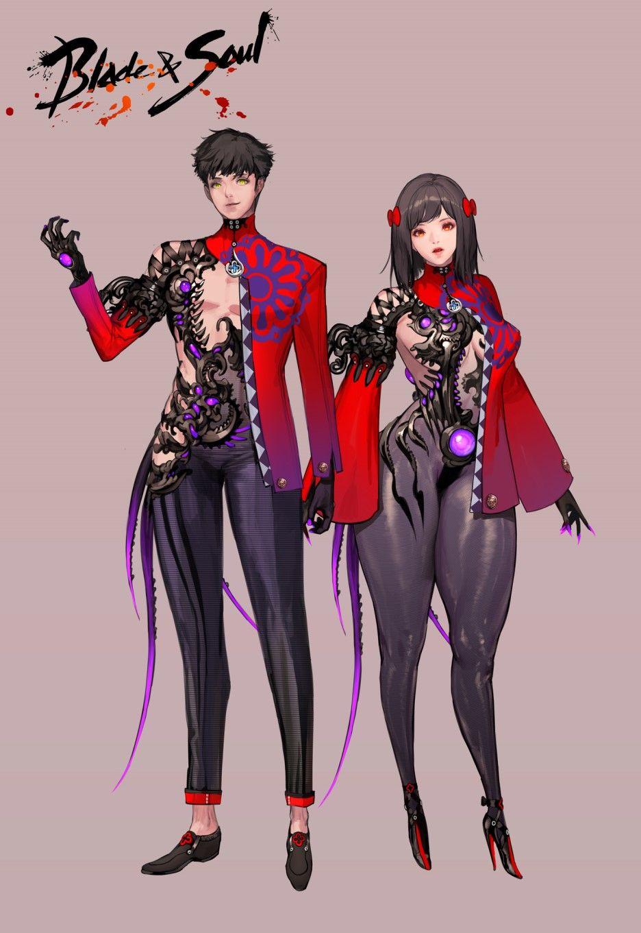 Blade and Soul designs by Hyulla 애증, 새, 감정