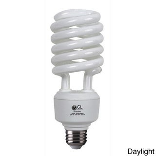 Goodlite 40 Watt 150 Watt Replacement Full Spectrum Compact Fluorescent 2600 Lumen T4 Spiral Light Bulb Case Of 30 Daylight 6500k Light Bulb Bulb White Light Bulbs