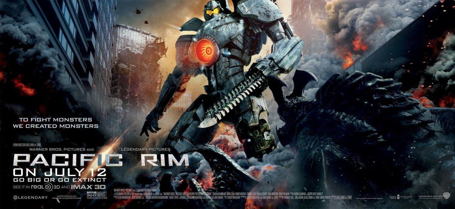 Extra Large Movie Poster Image For Pacific Rim Circulo De Fogo