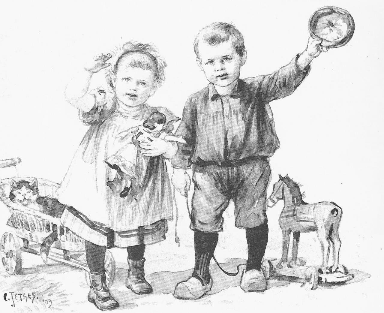 Aap Noot Mies Kleurplaat Onderwijsgeschiedenis Een Romantische Beschrijving Van