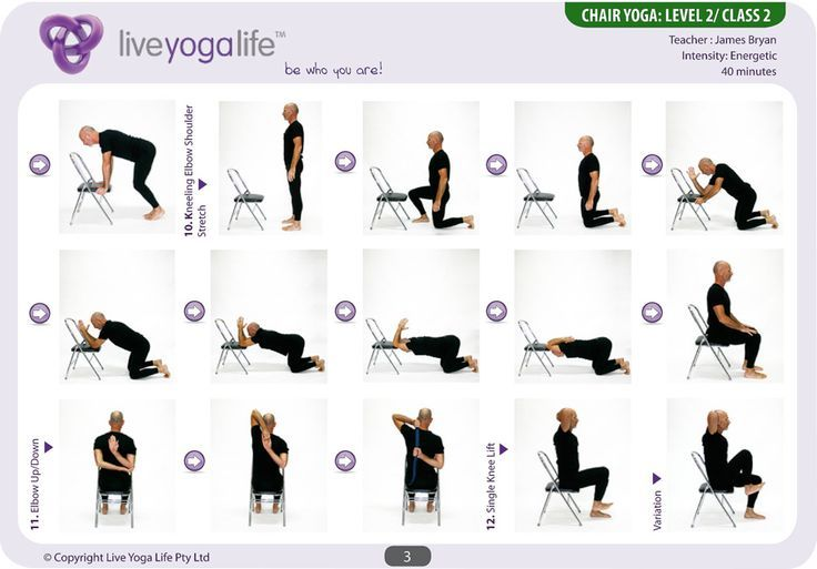 Transformative image for printable chair yoga routines