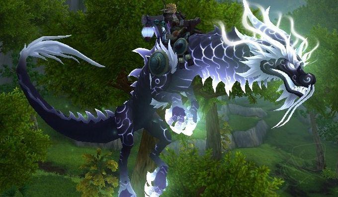 Reins Of The Heavenly Onyx Cloud Serpent Wow Gears Wow Gear 5 0 Raid Drop Mount Raiditem Com Clouds High Fantasy Serpent