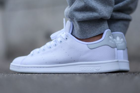 "online store c9329 e6172 adidas Stan Smith ""White Light Solid Grey"""