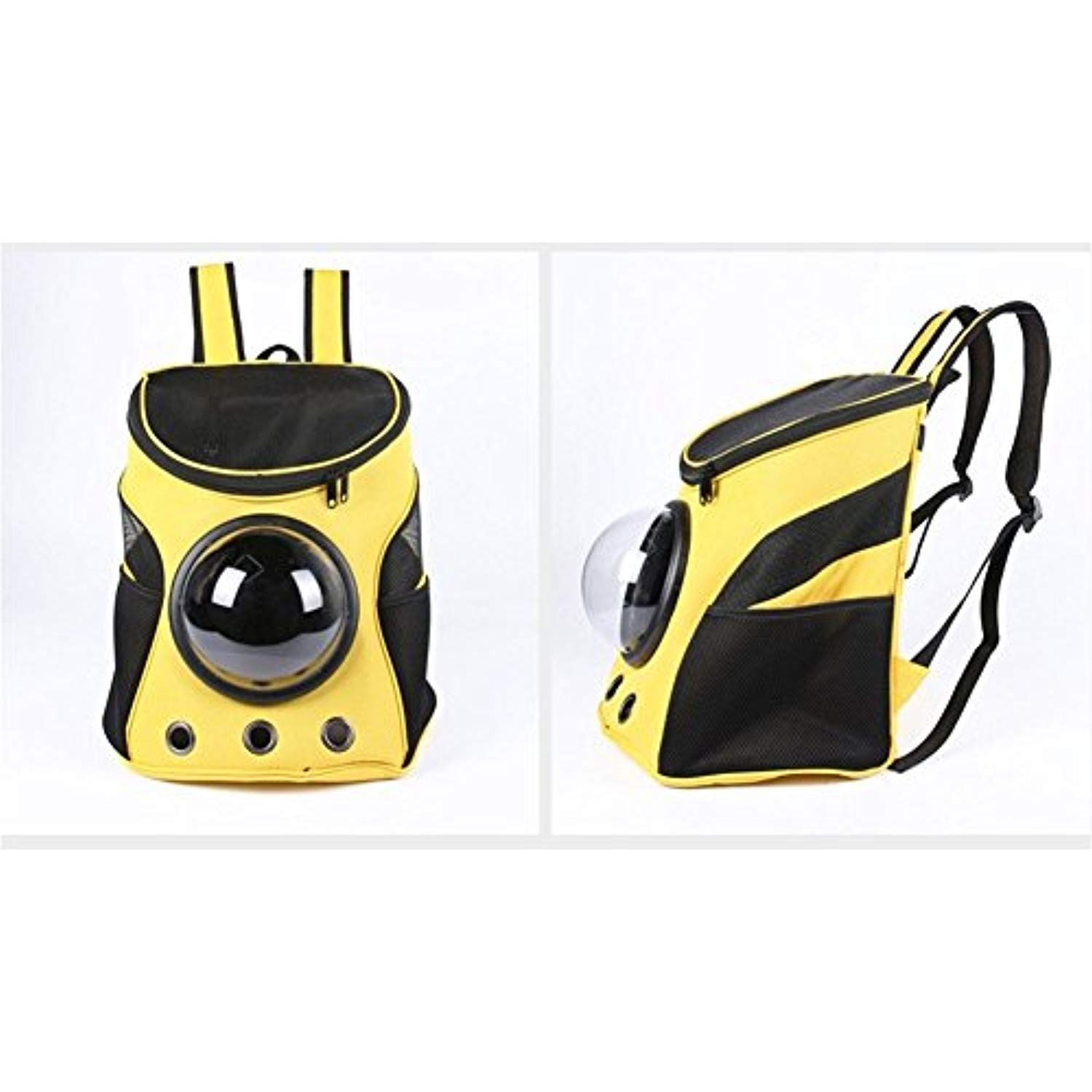 ccc94a2be56 Vedem Pet Durable Nylon Carrier Bag Cat Dog Traveler Bubble Backpack  (Yellow) * Find out more at the image link. #SmallAnimals