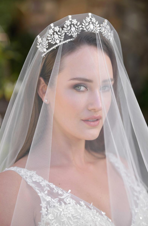 Tiara Crown Swarovski Crystal Bridal Tiara Tiara JASLYNE Bridal Tiara Wedding Crown CZ Bridal Crown Tiara Crown Wedding Crown Tiara Tiara