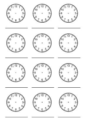 Uhrzeit Lernen Grundschule Zifferblatt Ausdrucken In 2020 Uhrzeit Lernen Uhrzeit Grundschule Uhr Lernen Kinder