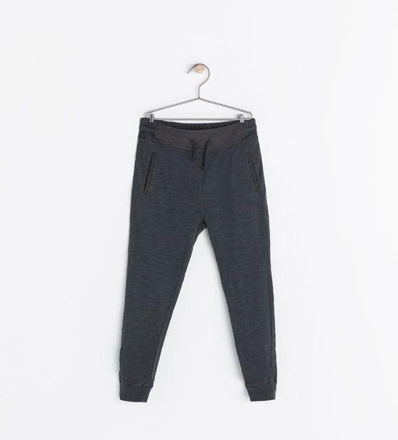 2e548dfc VELOUR HAREM PANTS from Zara Girls | Girls | Zara kids, Toddler girl ...