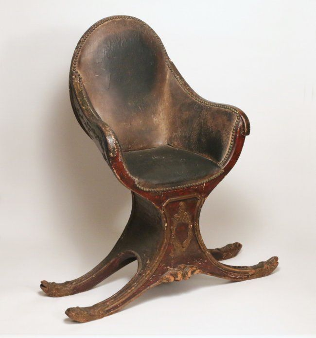 Buy Online, View Images And See Past Prices For VENETIAN GONDOLA CHAIR.