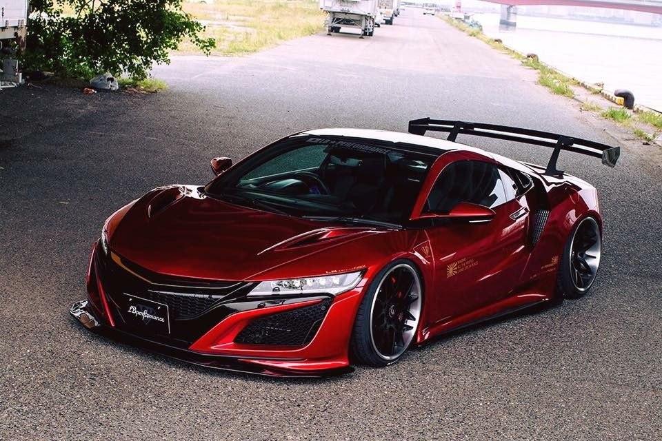 Lb Works Nsx Nc1 The A New Comeback Of The Nsx Generation Nsx