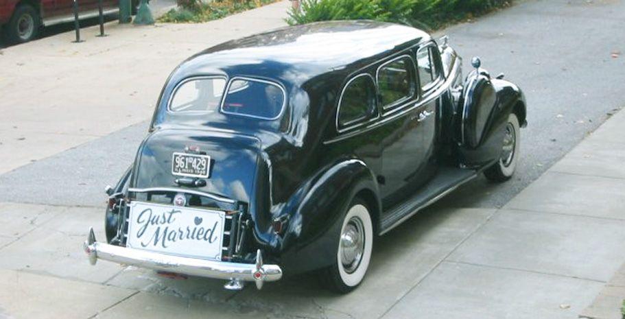 1940 black packard limousine gallery classic wedding car