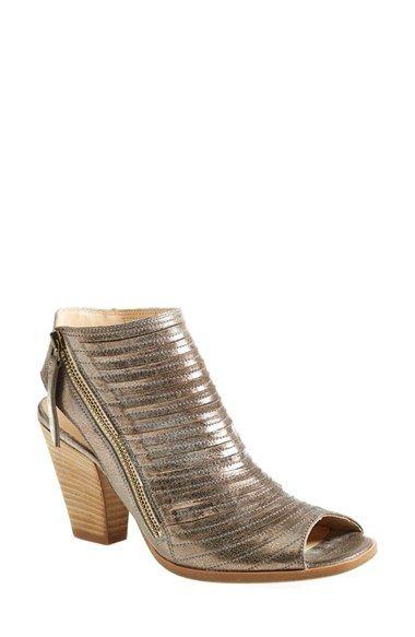 Paul Green Cayanne Leather Peep Toe Sandal Women -7838