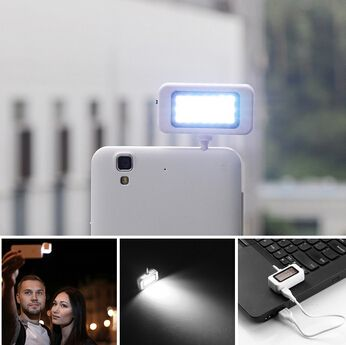 Smartphone Self Powered Phone Spotlight Light Mini LED Video Light 21 LEDs with 3.5mm Plug for #iPhone IOS #Samsung ($8.59) by free shipping!