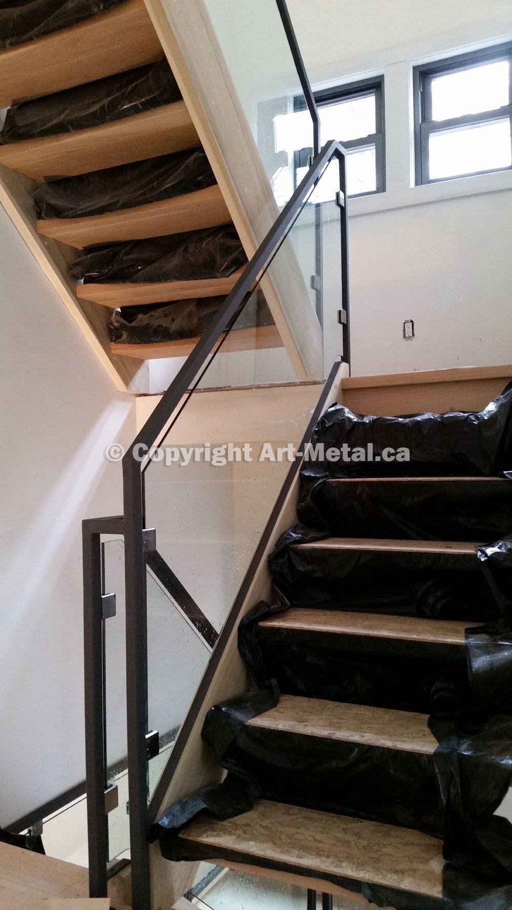 Best Glass Railing Systems Toronto Stair Balcony Deck Interior Exterior Interior Railings 400 x 300