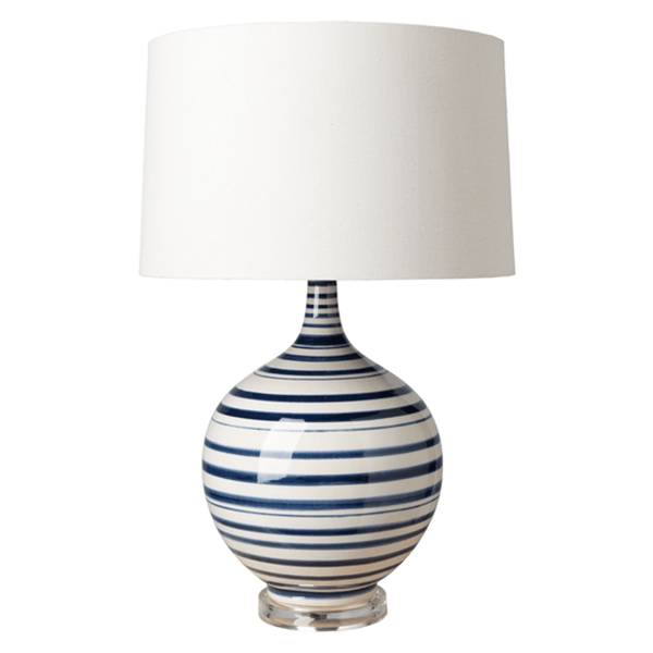 Tideline Table Lamp Navy Products White Table Lamp