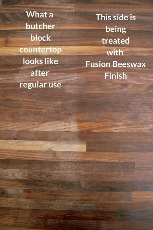 Why My Butcher Block Countertops And Mineral Oil Are