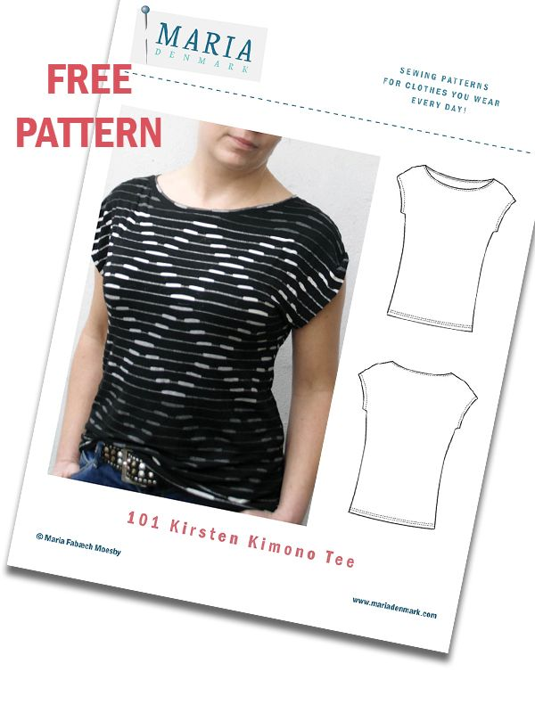 MariaDenmark Sewing Newsletter | Sewing tops, dresses and cardigans ...