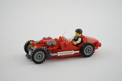 Lego Oldtimer sport car by szász