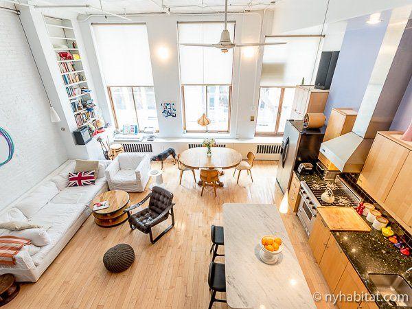 New York Apartment 2 Bedroom Loft Duplex Apartment Rental In Soho Ny 11015 Bedroom Loft New York Apartment Furnished Apartment