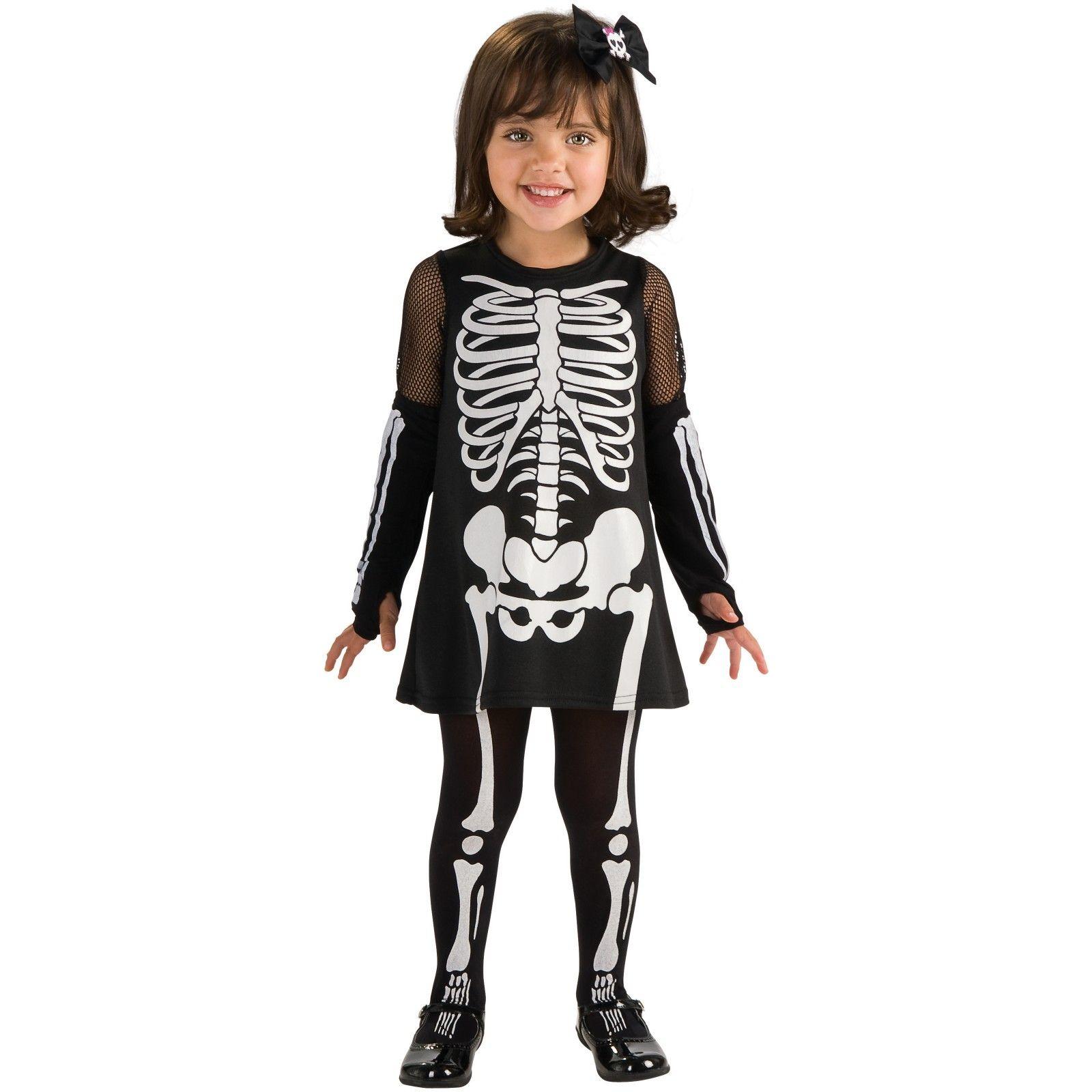 Skeleton Itty Bitty Bones Toddler Costume