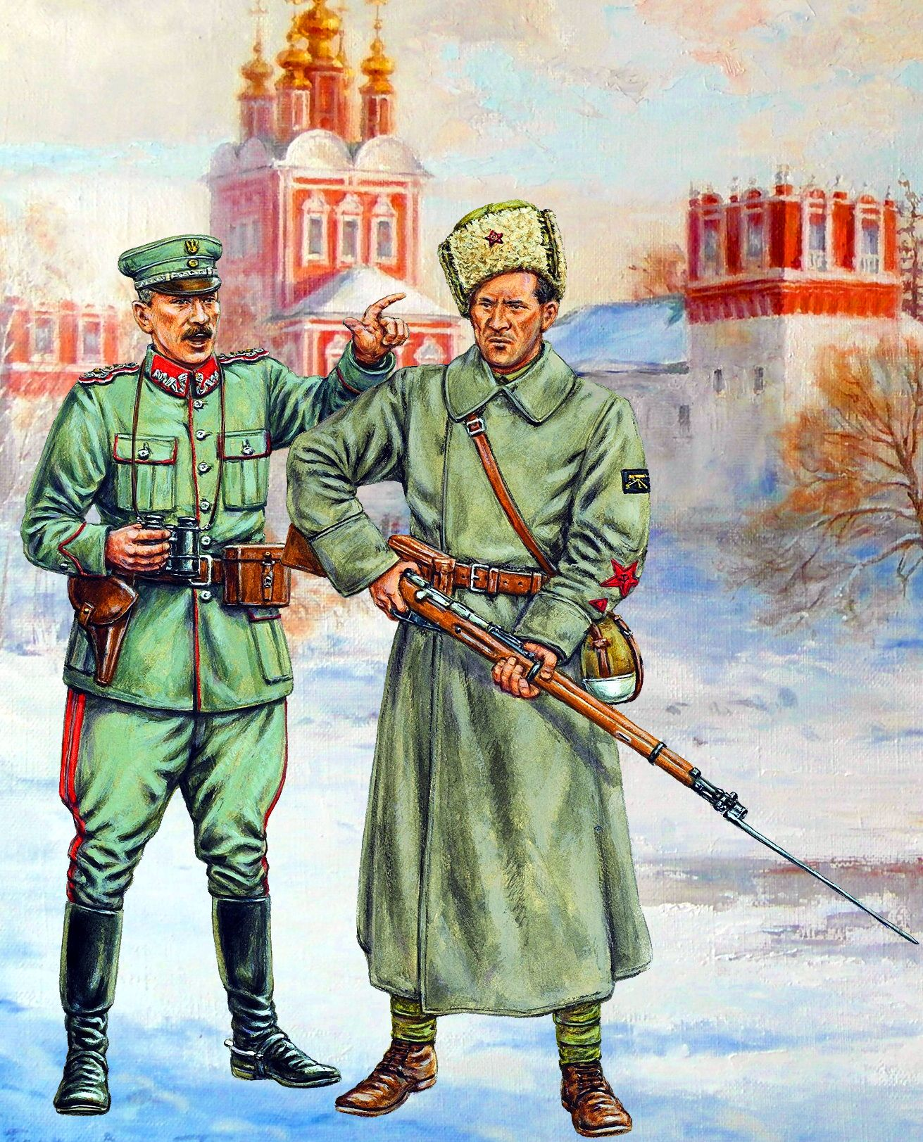 3rd Siedlec Revolutionary Inf Regt, Red Army; Lida