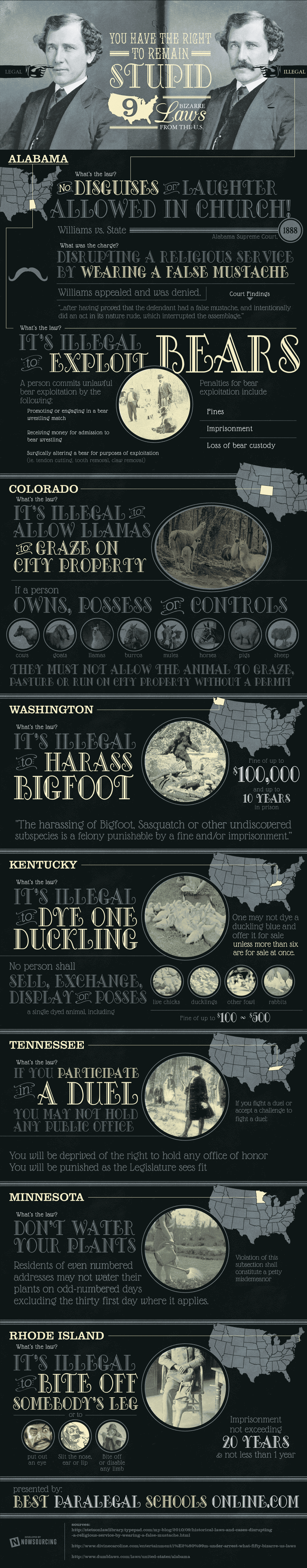 9 Bizarre Laws From the U.S.