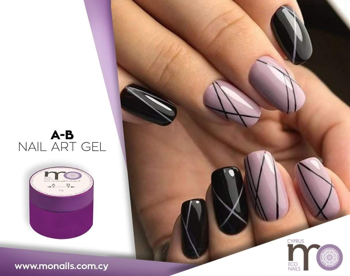 With Mo Nails A B Nail Art Gel You Can Create Perfect Ultra Thin