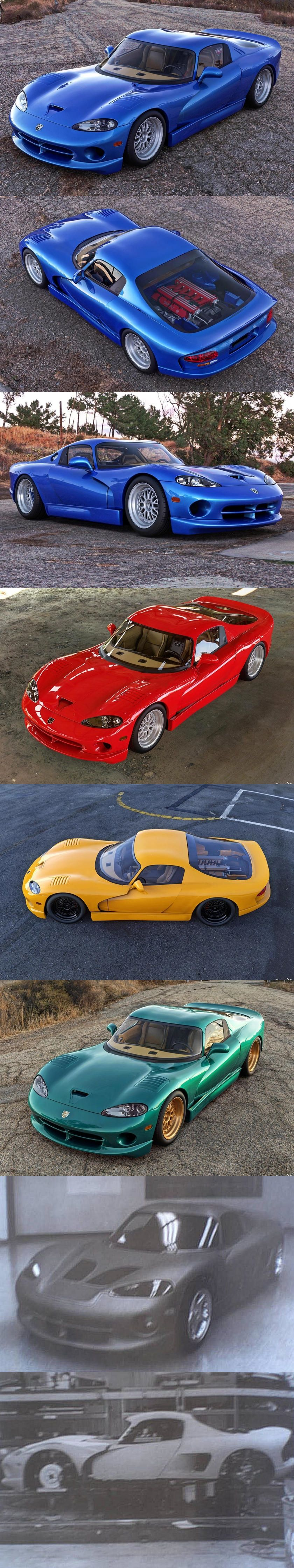 This Is The Mid Engine Dodge Viper Chrysler Refused To Make Dodge Viper Chrysler Super Cars