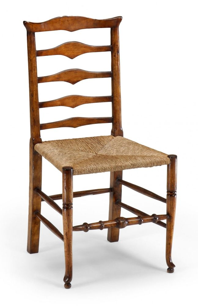 Jonathan Charles Furniture Catalog | Jonathan Charles Country Farmhouse  Triangular Ladder Back Rush Seat .