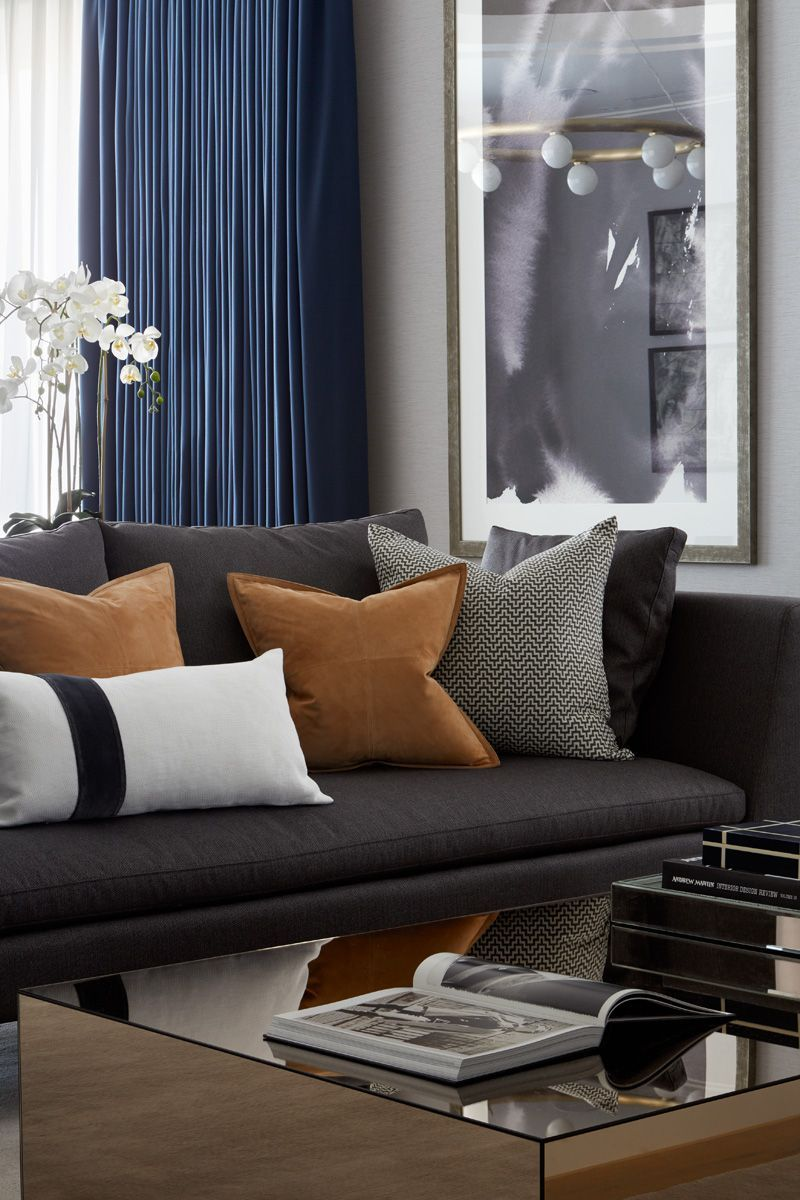 150 Best Living Room Pillows With Images Masculine Living