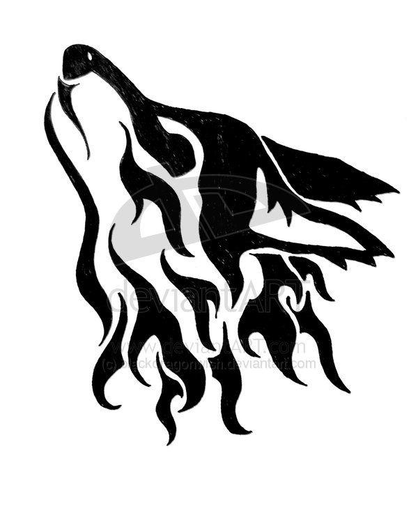 Wolf Design Long Life To Great Tatoos Pinterest Ideas De