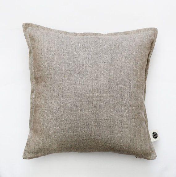 linen pillow cover hygge decorative