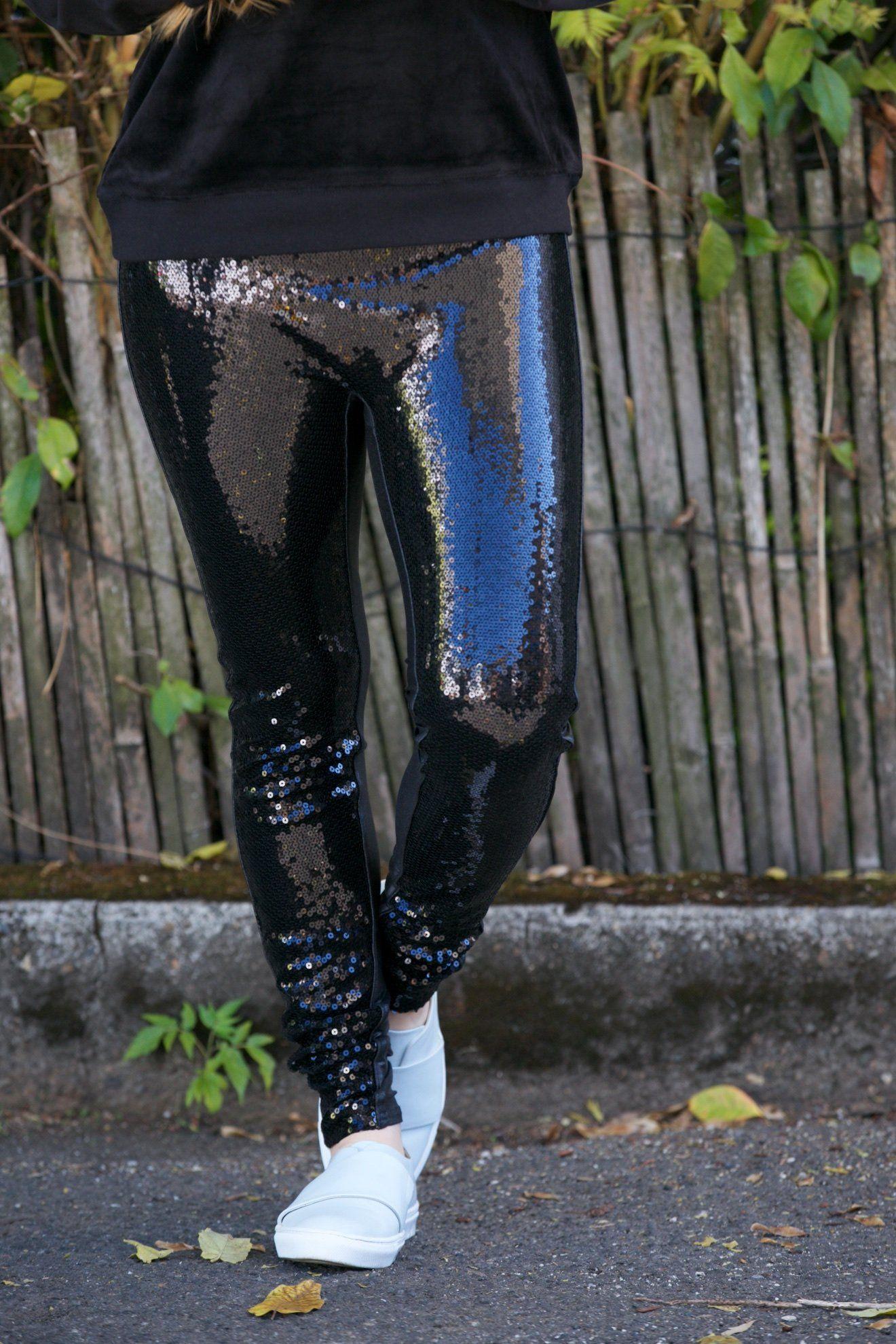 e8c64b40d3b00 SPANX Faux Leather Sequin Leggings | Products | Sequin leggings ...