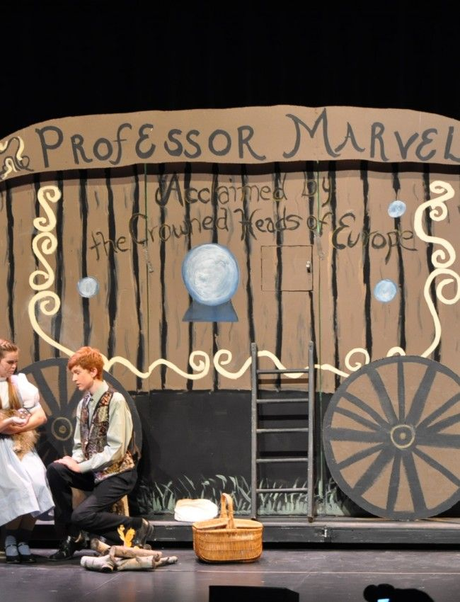 set design wizard of oz musical pinterest we the o