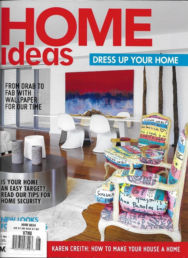 Home Ideas magazine Decorating Kitchens and bathrooms ...