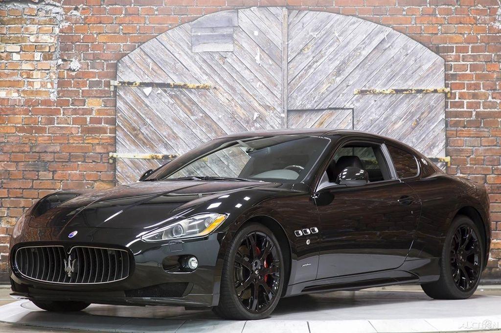 Maserati Gran Turismo S Automatic Mc Sport Line Carbon Fiber Nero Black 11 Granturismo Coupe Carbon Aero Interior Steering Wheel Maserati Bmw Car Carbon Fiber