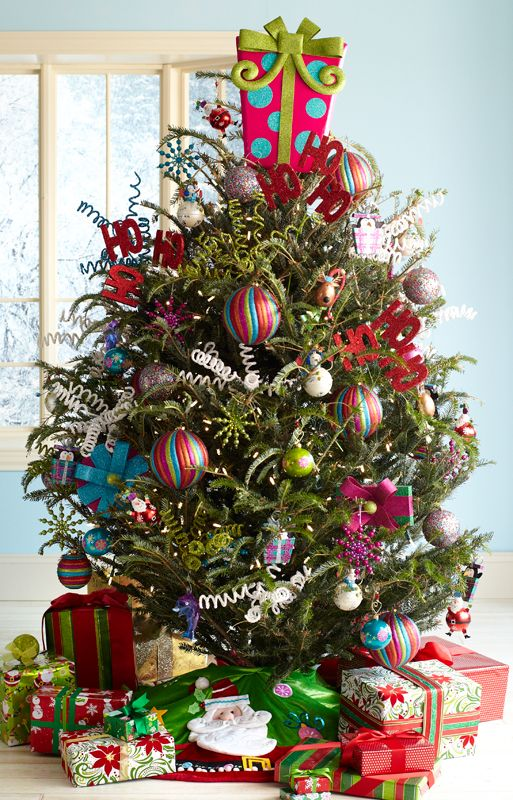 Pier One Christmas Trees.Pier 1 Pink Present Decor Tops A Tree With Assorted