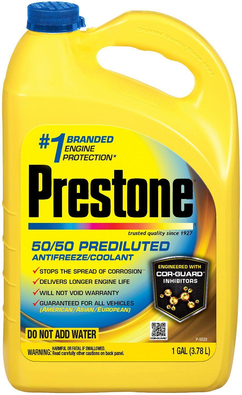 Amazon Com Prestone Af2100 Extended Life 50 X2f 50 Antifreeze