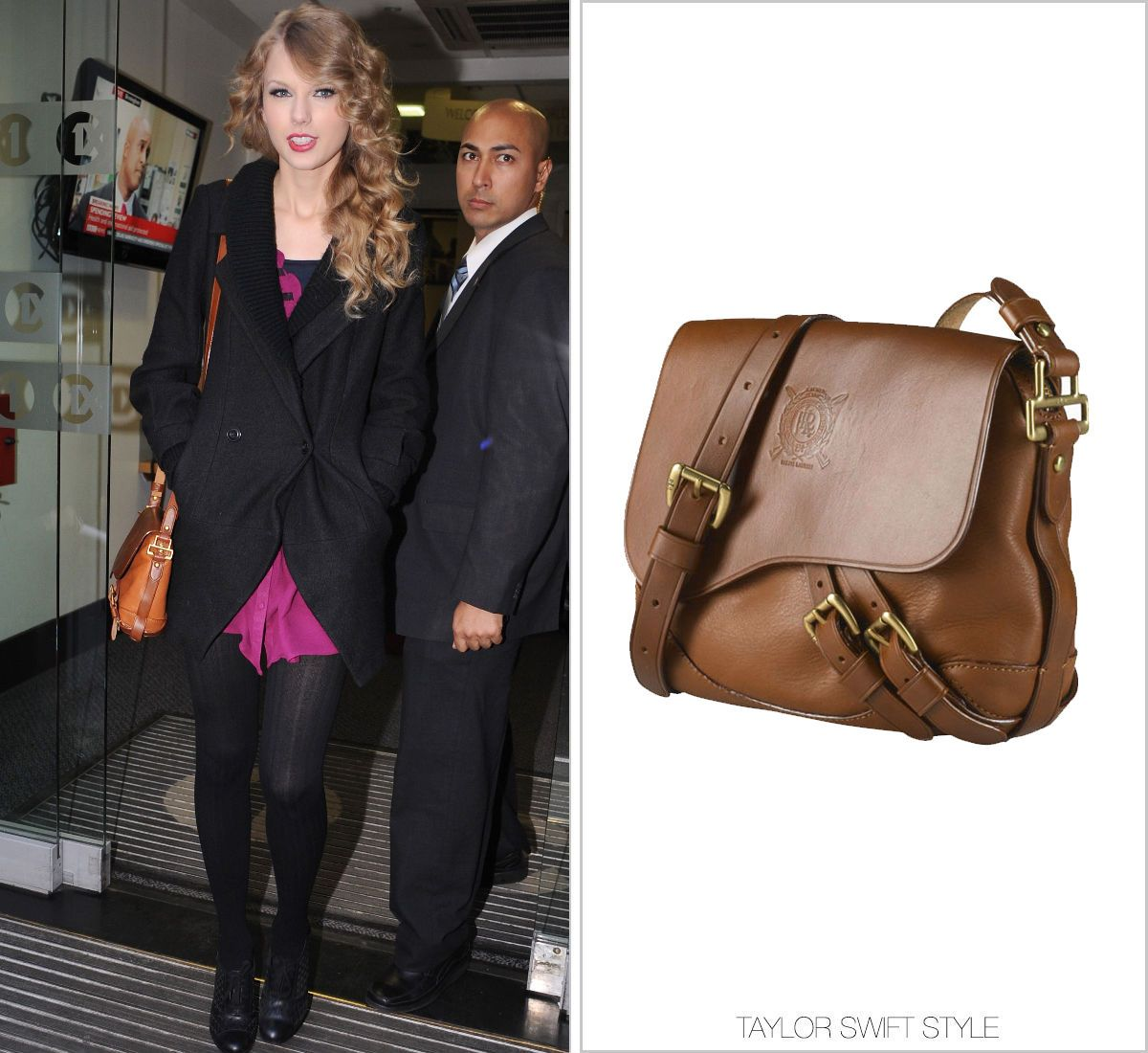 9623486139b8 Ralph Lauren  Tremont Leather Cross-Body  - no longer available · Free  People JacketUrban Outfitters DressTaylor Swift ...