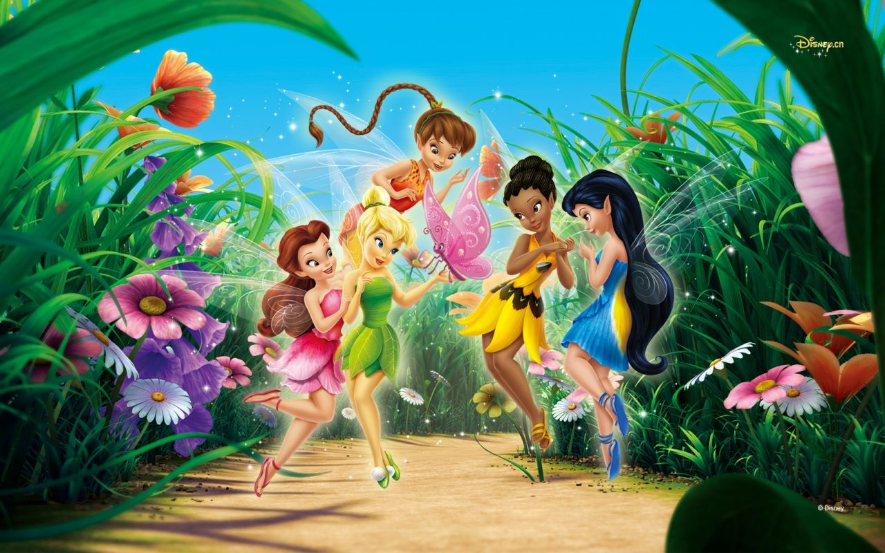 Wallpapers HD Desktop Free Online Amazing Tinkerbell 1920x1080