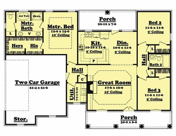 From House Plan To House Done The Thrill Of Building Your Own Home Floor Plans House Plans House Floor Plans