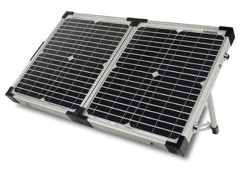 Go Power! (GP-PSK-40) 40W Portable Solar Kit with 10 Amp Solar Controller Go Power! http://www.amazon.com/dp/B00FENG0K2/ref=cm_sw_r_pi_dp_aczLwb010JJM3
