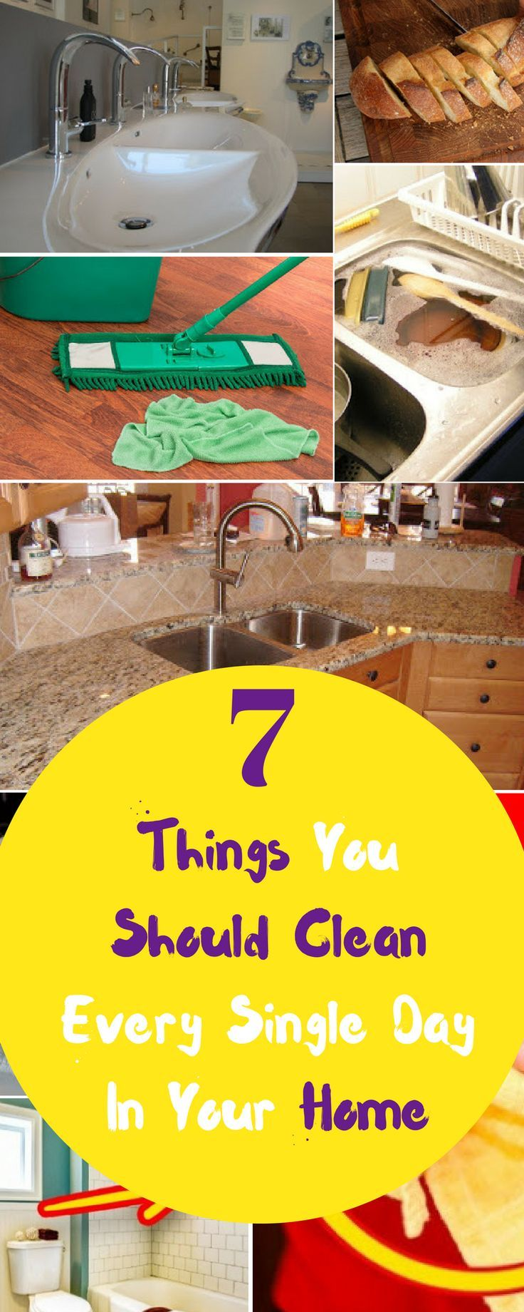 7 Things You Should Clean Every Single Day In Your Home