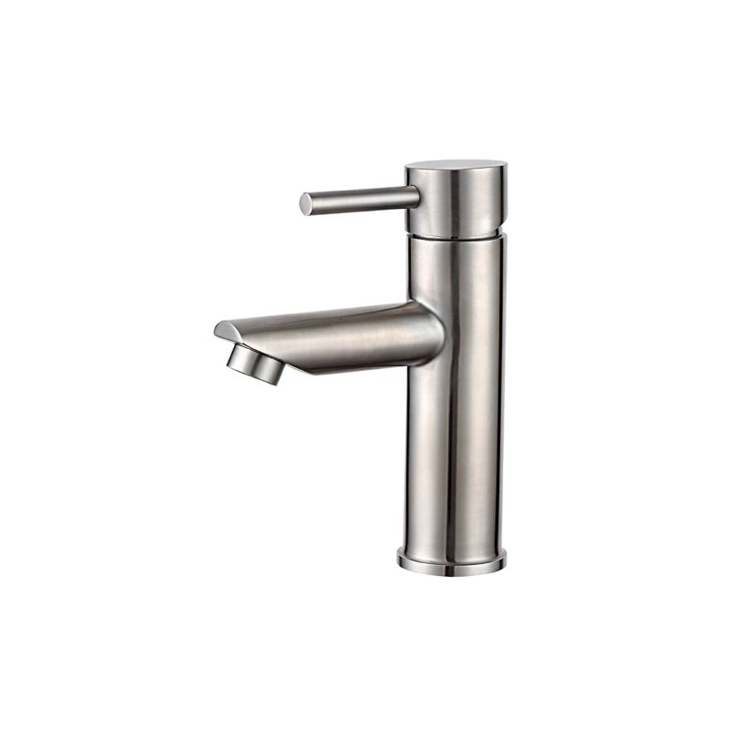 Modern hot cold water single handle stainless steel sink ...