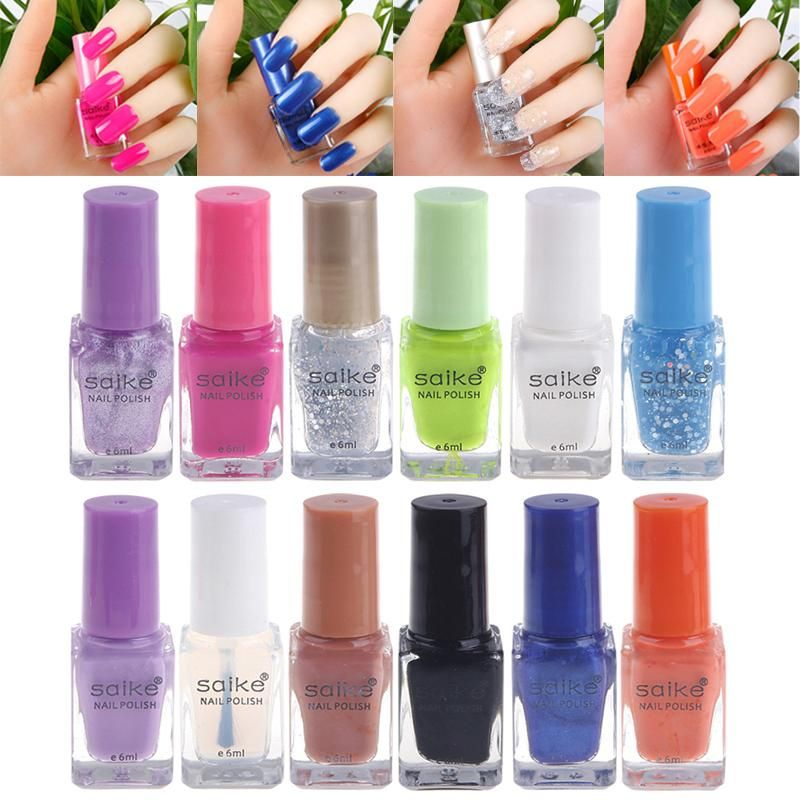 Non-Toxic Gel Nail Polish Peel Off Candy Color Changing Rip Pull ...