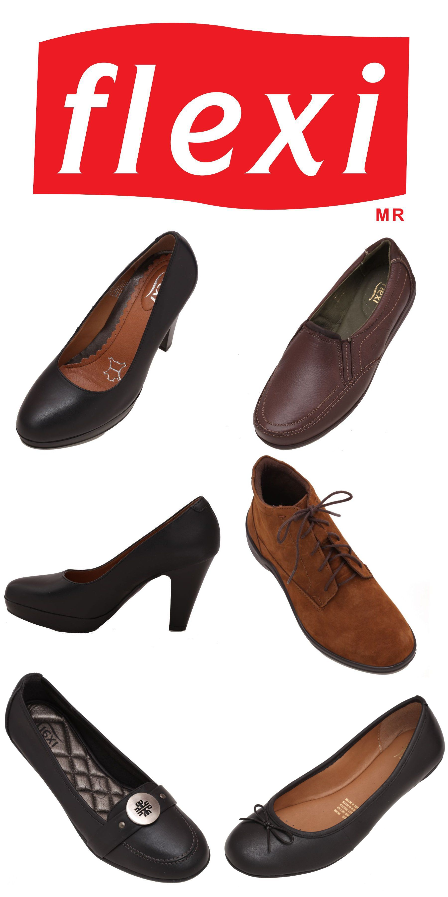 Pin en Zapatos Flexi para Mujer Calzado Flexi para Dama