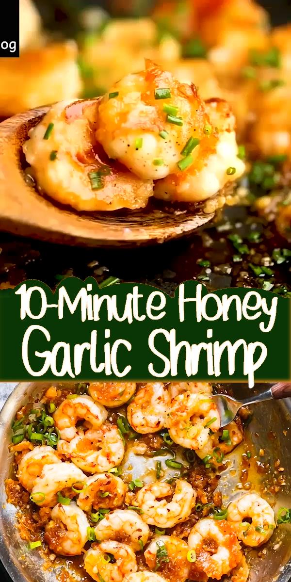 Photo of 10-minute Honey Garlic Shrimp