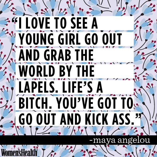 10 Maya Angelou Quotes Thatu0027ll Make You Love Life And Get Sh*t